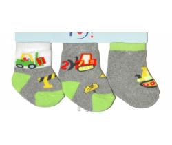 Bavlnené ponožky 3 ks Yo Builder