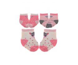 Bavlnené ponožky 3 ks Yo Owl/Bear/Fawn