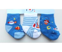 Bavlnené ponožky 3 ks Yo Space