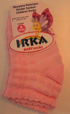 Bavlnené ponožky prešívané 0+ Pinokio Deluxe