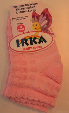 Bavlnené ponožky prešívané veľkosť 3 Pinokio Deluxe