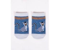Bavlnené ponožky YO Blue Lemur