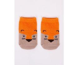 Bavlnené ponožky YO Brown Fox