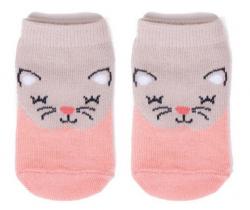 Bavlnené ponožky YO Pink Cat