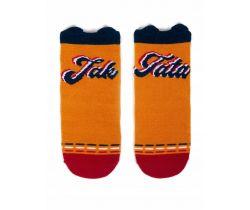 Bavlnené ponožky YO s uškami Like Dad Mustard