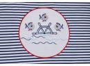 Bavlnené obliečky do postieľky Glück Marine