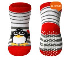 Bavlnené protišmykové ponožky 589/01 Babyono 6m+