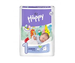 Plienky Bella Baby Happy Newborn 1 (2-5 kg) 42 ks