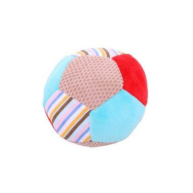 Textilná hračka Bigjigs Baby Hrkálka Balónik Bruno