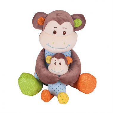 Textilná postavička Bigjigs Baby Opička Cheeky Veľká