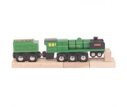 Drevená replika lokomotívy Bigjigs Rail RH & DR Typhoon