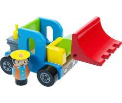 Farebný nakladač s vodičom Bigjigs Toys