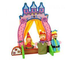 Drevené divadlo s prstovými maňušky Bigjigs Toys