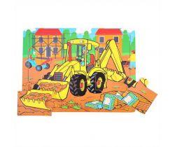 Drevené puzzle Bigjigs Toys Bager 9 dielikov