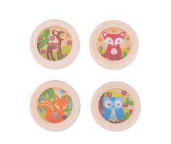 Hra minilabyrint 1 ks Bigjigs Toys Zvieratká