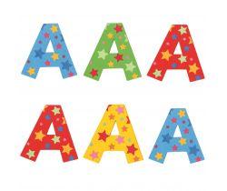 Hviezdičkové písmenko Bigjigs Toys A