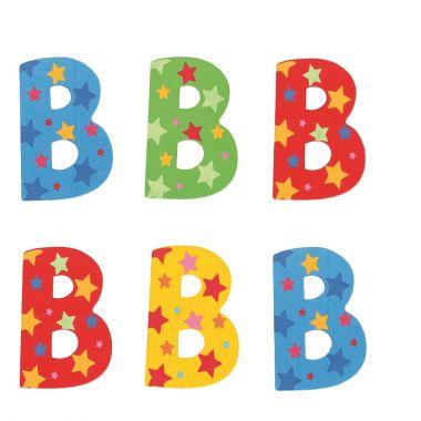 Hviezdičkové písmenko Bigjigs Toys B