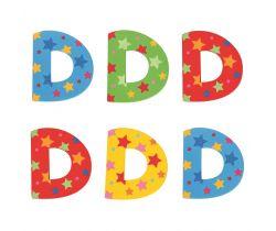 Hviezdičkové písmenko Bigjigs Toys D