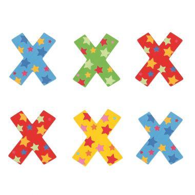 Hviezdičkové písmenko Bigjigs Toys X