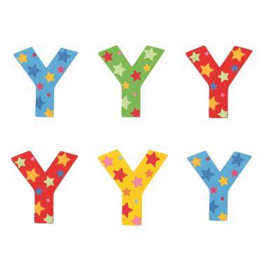 Hviezdičkové písmenko Bigjigs Toys Y