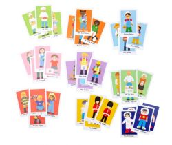 Kartová hra Bigjigs Toys Šťastná rodinka
