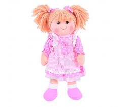 Látková bábika Bigjigs Toys Anna 34 cm