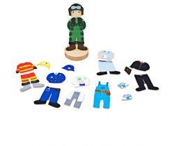 Magnetické oblékací puzzle Bigjigs Toys Profesia