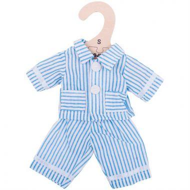 Pyžamo pre bábiku 28 cm Bigjigs Toys Modré