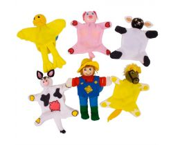 Prsty maňušky Bigjigs Toys Farma