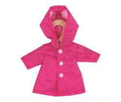 Kabátik pre bábiku 28 cm Bigjigs Toys Ružový