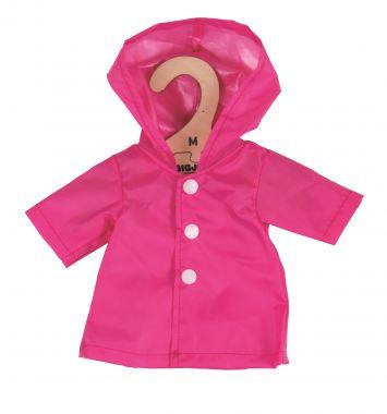 Kabátik pre bábiku 34 cm Bigjigs Toys Ružový