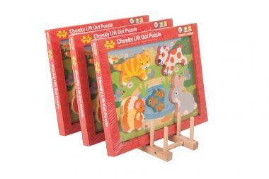 Stojanček na puzzle Bigjigs Toys