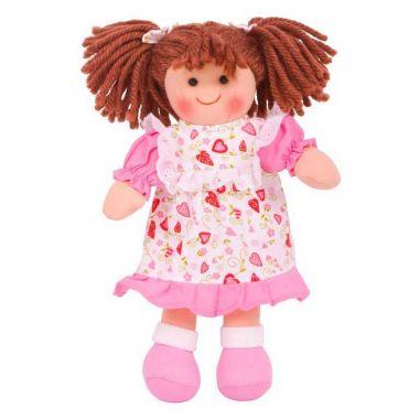 Látková bábika Bigjigs Toys Amy 28 cm