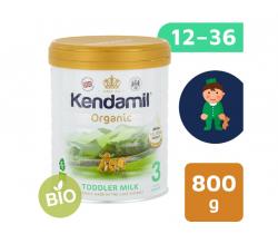 BIO plnotučné batoľacie mlieko 800 g DHA+ Kendamil Organic 3