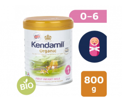 BIO plnotučné dojčenské mlieko 800 g DHA+ Kendamil Organic 1
