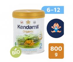 BIO plnotučné pokračovacie mlieko 800 g DHA+ Kendamil Organic 2