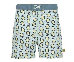 Chlapčenské plavky Lässig Board Shorts Boys Penguin Mint