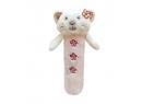 Bobas plyšové pískatko - mačička ZW 5A - ružová