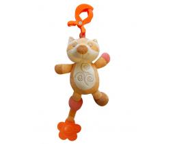 Bobas vibračná hračka s pískatkom Liška ZW 16