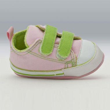 Bobas ZB-150 Dojčenské capačky zeleno-ružové