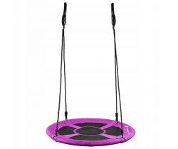 Hojdacie kruh (priemer: 90 cm) Springos Black/Purple
