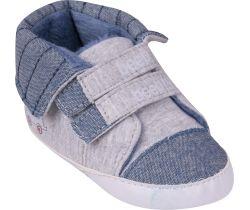 Topánočky so suchým zipsom Yo Beep Grey
