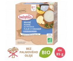 Brassé jablko a pomarančový kvet 4x85 g Babybio