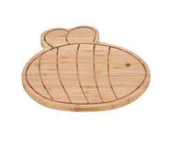 Raňajkové doštička Lässig Breakfast Board Bamboo Wood