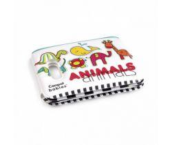 Canpol Animal pískacia knižka  s úchytom