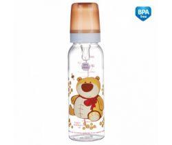 Canpol Animals fľaška s potlačou 250 ml bez BPA