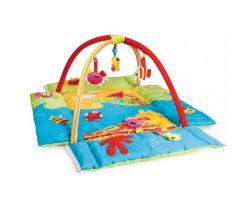 Canpol Colorful ocean multifunkční hracia deka s hrazdičkou