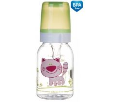 Canpol fľaša s potlačou 120 ml bez BPA