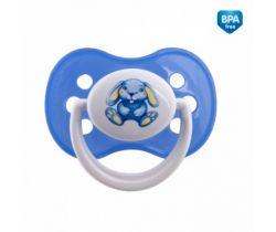 Canpol Milky cumlík silikonový symetrický modrá
