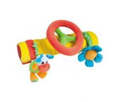 Canpol plyšová hračka na madlo s volantom